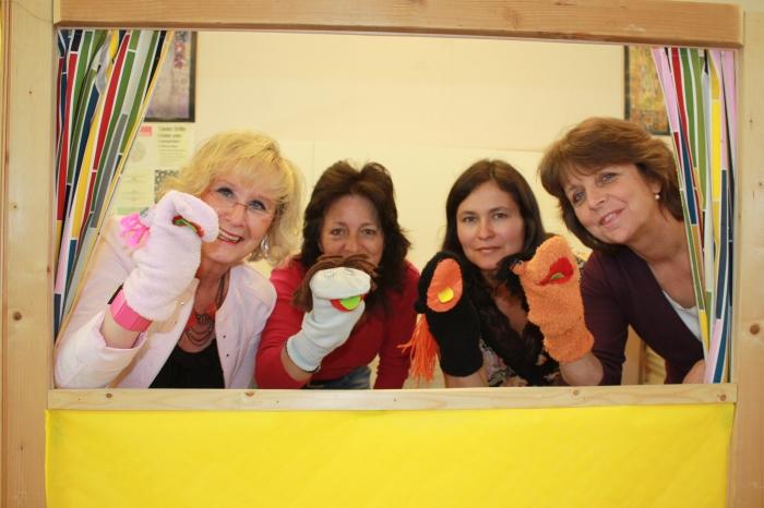 Frau Preuß, Frau Hersant, Frau Sonne, Frau Bremer